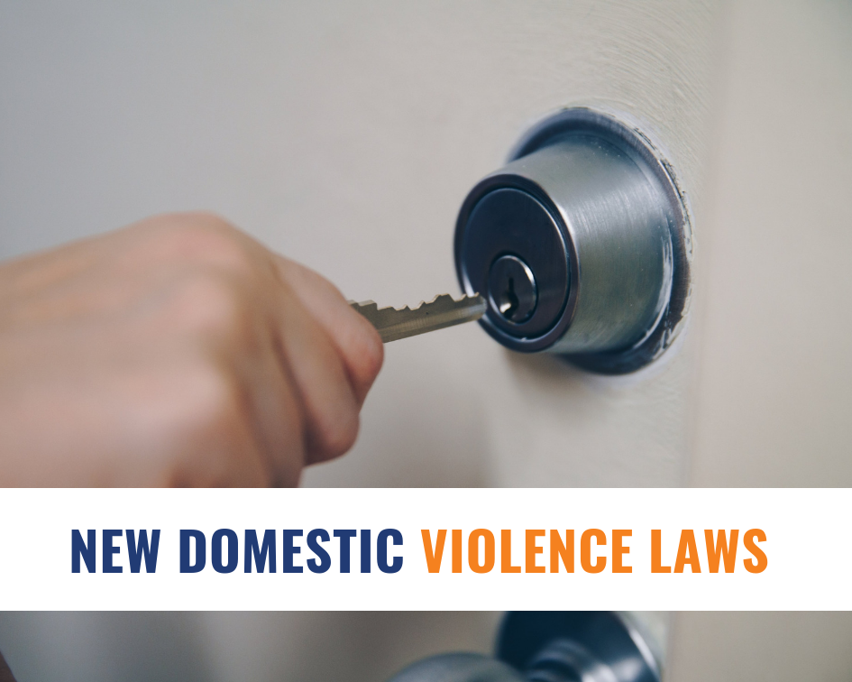 New domestic violence laws – Tenancy laws for victims of
