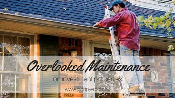 Overlooked Maintenance on Investment Properties