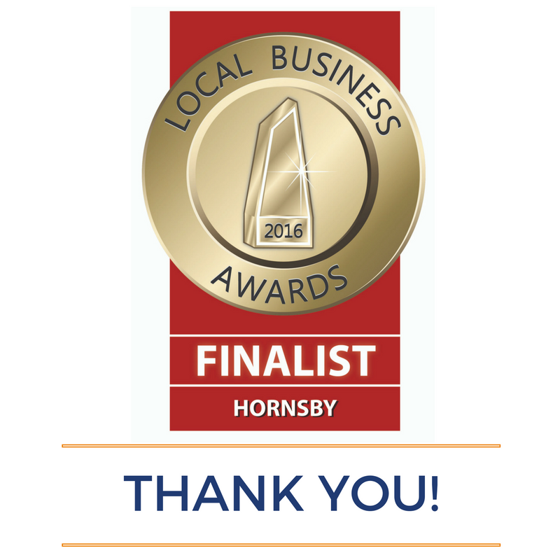 Hornsby Local Business Awards 2016